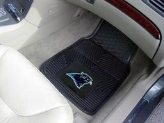 Fanmats Miami Dolphins Two-Piece Heavy Duty Vinyl Car Mats - Carolina Panthers  http://allstarsportsfan.com/product/fanmats-miami-dolphins-two-piece-heavy-duty-vinyl-car-mats/?attribute_pa_color=carolina-panthers  All-Weather Resistant; Product Height 0.50; Product Width 27.00; Product Length 18.00; Team NFL – Carolina Panthers Heavy Duty Vinyl Construction Officially Licensed Colors and Logos