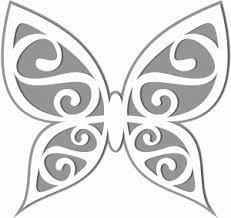 Resultado de imagem para 3d cutout butterfly