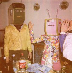Pink Robot & Friend