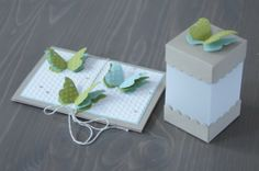 love vellum and crumb cake  and love butterflies! great project by Jenni Pauli