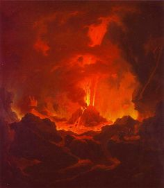 by Michael Wutky Fantasy Concept Art, Fantasy Art, Alien Worlds, Demonology, Orange Aesthetic, Classic Paintings, Visionary Art, Skull Art, Impressionism