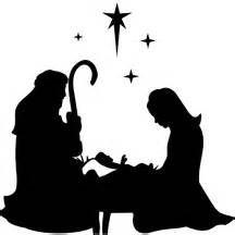 santa with manger - Bing Images