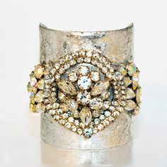 Evocateur Vintage Cuff  We have a cuff almost like this one coming in on Friday at Emma's Shoes. Come and get one of these amazing one of a kind pieces.