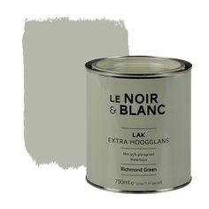 Le Noir & Blanc lak extra hoogglans richmond green 750 ml, alles voor je klus om je huis & tuin te verfraaien vind je bij KARWEI