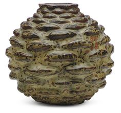 Axel Salto, 1964 vase, executed by Royal Copenhagen. Sold by Christies, $6,875; March 2009
