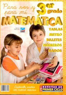Libro de Actividades de Matematicas 3° para descargar aqui: http://mimaestradeprimaria.wordpress.com