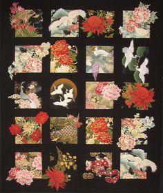 20 blocs asiatiques couette motif bricolage piquage grands pour les tissus de grande échelle bricolage couture à piquer