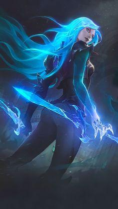 Aquaya-league of legends art Fantasy Girl, Dark Fantasy, 3d Fantasy, Fantasy Kunst, Fantasy Warrior, Fantasy Artwork, Fantasy Witch, Fantasy League, Elves Fantasy