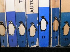 """lovvver:""""The Iconic Penguins in blue"""" Vintage Penguin, Bojack Horseman, Penguin Classics, Penguin Books, Penguin Logo, Atypical, Japanese Books, Blue Aesthetic, Vintage Books"""