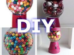 "DIY Maquina de Chicles Regalo Para San Valentin ""Easy DIY Gum ball Machine"" - YouTube"