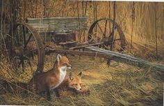 Foxes - Artist unknown