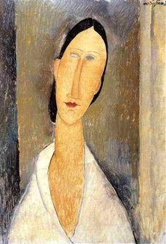 Hanka Zborowska - Amedeo Modigliani