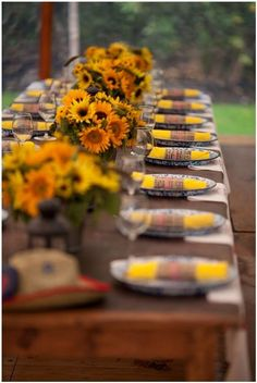 Picture Of Barbecue Themed Rehearsal Dinner Ideas 21