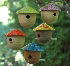 Funky Bird Houses