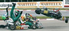 Accidente Karting