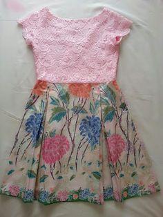 batik mix lace