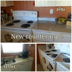 Cheap counter top fixes for renter