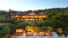 the Auberge du Soleil in Napa Valley, California.