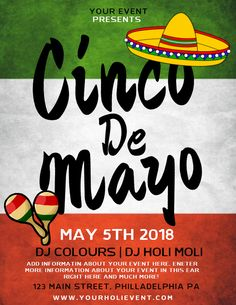 uk availability 56d78 4a40c Cinco de Mayo poster flyer template.