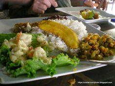 Casado. Costa Rica food
