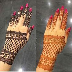 Henna inspo via Stylish Mehndi Designs, Beautiful Henna Designs, Best Mehndi Designs, Dulhan Mehndi Designs, Mehendi, Mehndi Tattoo, Henna Tattoo Designs, Henna Tattoos, Mehndi Design Pictures