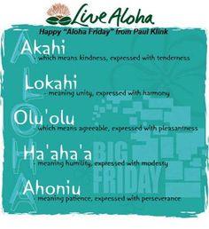 Live #Aloha..!!