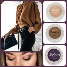 The combos for amazing fall eye makeup with Younique are ENDLESS!!  Elegant  Tenacious  Rapturous Splurge cream eyeshadow from Younique. Get yours as part of the December 2017 kudos at www.taniaslashes.com