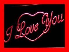i362-r-I-LOVE-YOU-HEART-DISPLAY-GIFT-NR-Neon-Light-Sign