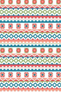 Girly Aztec pattern credit to abutterfly46