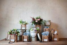 Florist / flowers packaging design. - Sally L. Hambleton