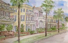 Favorite Places Custom Watercolor Paintings by KristinDouglasART, $125.00