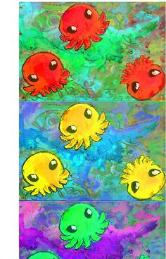 Rasta Octopi