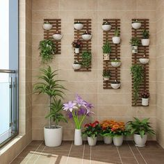 Flower Wall Frame Hanging Wall Flower Stand Balcony Wall Hanging Decorative Wall Plant Flower Shelf Flower Wall Frame Hanging Wall Flower Stand Balcony Wall Hanging Decorative Wall Plant Flower Shelf Hanging Wall Flower Pot Rack - Aliexpress SEE DETAILS. Indoor Balcony, Small Balcony Garden, Small Balcony Decor, Balcony Flowers, Balcony Plants, House Plants Decor, Indoor Plants, Indoor Bamboo, Potted Plants