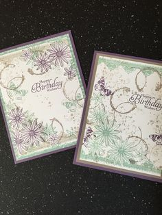 Stampin up /timeless textures Grateful Bunch