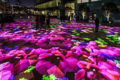 miguel chevalier's power flowers create a digital garden of light