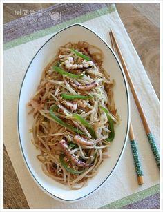디톡스와 다이어트를 한번에 해결한...오징어 숙주볶음, 숙주볶음 – 레시피   Daum 요리