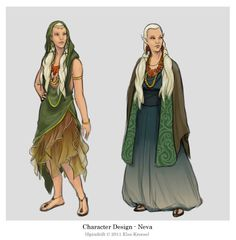 Character design - Neva by ElsaKroese.deviantart.com on @deviantART