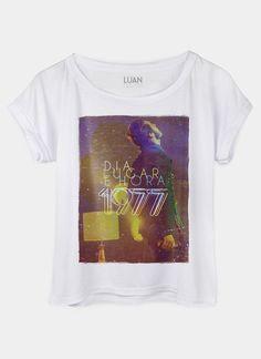 Blusa Feminina Luan Santana 1977 Dia, Lugar e Hora Lights #LuanSantana #DiaLugareHora #1977 #bandUP