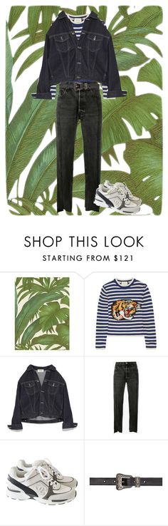 """Untitled #188"" by frederikkematilder on Polyvore featuring Versace, Gucci, Vetements, Chanel and Yves Saint Laurent"