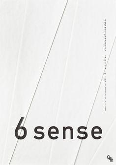 """6 sence"" graphic design | Artist / Künstler: Yoshiaki Irobe |"