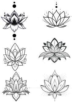 small tattoos for women / small tattoos . small tattoos with meaning . small tattoos for women . small tattoos for women with meaning . small tattoos for women on wrist . small tattoos with meaning inspiration Lotus Tattoo Design, Small Lotus Tattoo, Flower Tattoo Designs, Lotus Flower Tattoos, Lotus Mandala Tattoo, Lotus Flower Mandala, Lotus Flower Drawings, Lotus Tattoo Wrist, Lotus Flower Tattoo Meaning