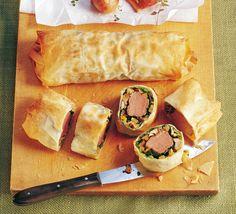 Fleisch mit Gemüse im Filoteigmantel -für das ausführliche Rezept auf das Bild klicken!