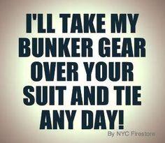 Love my bunker gear kinda guy! Firefighter School, Firefighter Family, Firefighter Paramedic, Firefighter Wedding, Firefighter Pictures, Firefighter Quotes, Female Firefighter, Volunteer Firefighter, Firefighters Wife