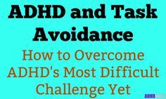 People with ADHD are good at avoiding tasks. But, task avoidance is horrible for you. So, this article shows you how to conquer task avoidance and ADHD. Tap the link to check out fidgets and sensory toys! Adhd Odd, Adhd And Autism, Autism Teens, Adhd Inattentive Type, Adhd Signs, Adhd Help, Adhd Brain, Adhd Diet, Apocalypse