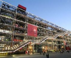 Exploring the Centre Georges Pompidou, Paris' Quirky Cultural Heart Pompidou Paris, Georges Pompidou, Renzo Piano, Thomas Jefferson, Zaha Hadid, Stirling, Cardiff, Wimbledon, Paris In February