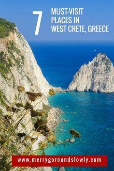 Best places to see in Crete, Greece, including Elafonisi, Falassarna, Topolia Gorge, Aspri Limni, Balos and Gramvousa, Milia, Lake Kournas #crete #greece #europe #elafonisi #balos #gramvousa