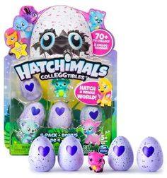 hatchimals colleggtibles 4pk bonus by spin master styles colors may vary christmas toyschristmas presentschristmas 2017christmas