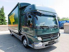 Mercedes-Benz Atego 818L L-Haus,Klima,Tempomat,LBW 1,5to,AHK, LKW Pritsche/Plane in Au am Rhein, gebraucht kaufen bei AutoScout24 Trucks