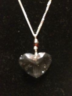 The heart in my Hands NecklaceSterling Silver and by asktjdesigns