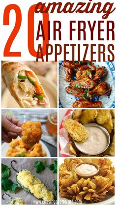 20 delicious air fryer appetizers